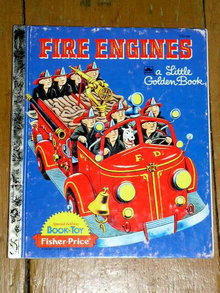 Fire Engines, Little Golden Book, First Printing