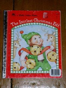 The Littlest Christmas Elf, Little Golden Book, Second Printing