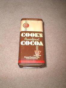 Cooks Breakfast Cocoa Tin