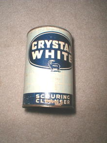 Crystal White Scouring Cleanser Container