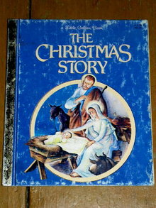 The Christmas Story, Little Golden Book, Second Printing