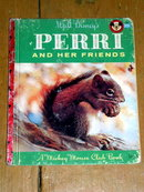 Perri and Her Fiends, Little Golden Book, First Printing