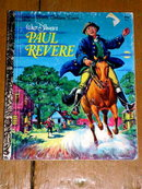 Paul Revere, Little Golden Book, Second Printing