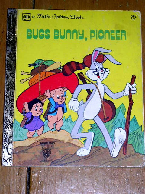 Bug's Bunny, Pioneer, Little Golden Book, Second Printing
