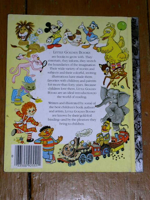 Good Night Aunt Lilly,  Little Golden Book, Second Printing