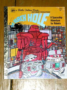 The Black Hole,  Little Golden Book, First Printing