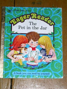 The Pet in the Jar, Little Golden Book, First Printing