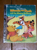 Winnie the Pooh and the Missing Bullhorn,  Little Golden Book, First Printing