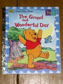 Pooh - The Grand and Wonderful Day,  Little Golden Book, First Printing