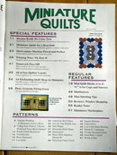 Miniature Quilts #19 - 1995  -  QM