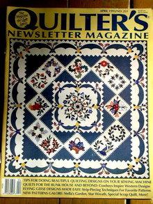 Quilter's Newsletter #251 - 1993  -  QM