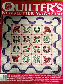 Quilter's Newsletter #253 - 1993  -  QM