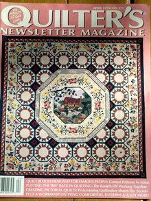 Quilter's Newsletter #271 - 1995  -  QM