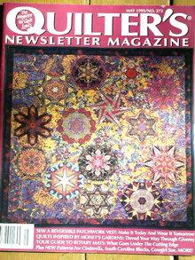 Quilter's Newsletter #272 - 1995  -  QM