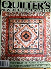 Quilter's Newsletter #277 - 1995  -  QM