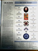 Quilter's Newsletter #278 - 1995  -  QM