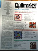 Quiltmaker #29 - 1992  -  QM