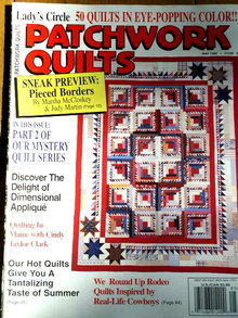 Lady's Circle Patchwork Quilts #104 - 1995  -  QM
