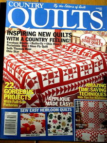 Country Quilts by Quilt Magazine #13-1 -1995  -  QM