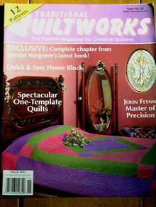 Traditional Quiltworks #24 - 1993  -  QM