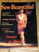 Sew Beautiful #4-3  - 1991  -  QM