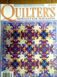 Quilters Newsletter #330 - 2001  -  QM