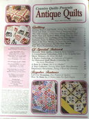 Antique Quilts by Country Quilts  - 2001  -  QM