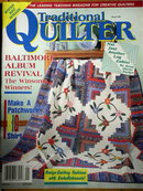 Traditional Quilter #36 - 1995  -  QM