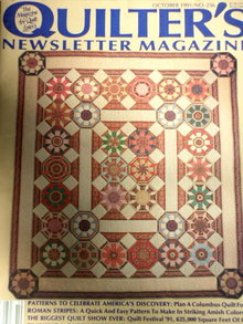 Quilters Newsletter #236 - 1991  -  QM