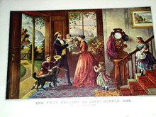 Currier & Ives - The Four Seasons of Life : Middle Age