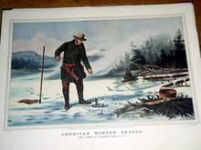 Currier & Ives -  American Winter Sports