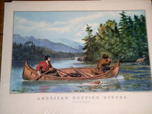 Currier & Ives -  American Hunting Scenes - A Good Chance