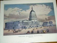 Currier & Ives -  United States Capitol