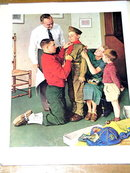 Norman Rockwell Print - Mighty Proud