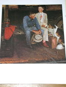 Norman Rockwell Print - Breaking Home Ties