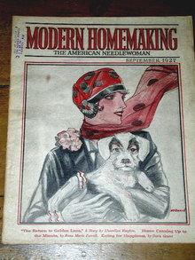 Modern Homemaking - American Needlewoman  -  MZ