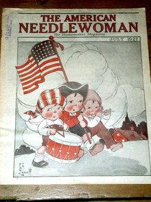The American Needlewoman - 1927  -   MZ