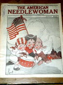 The American Needlewoman - 1927  -   MZ