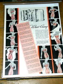 Woman's Undergarment  Advertisement 1930's