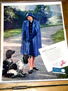 Krene Plastic Advertisement 1940