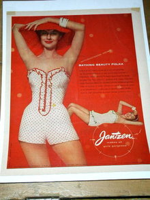 Jantzen Bathing Suits Advertisement 1940