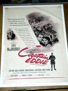 Captain Eddie Movie Advertisement