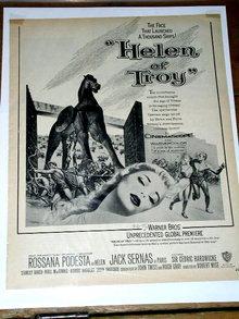 Helen of Troy  Movie Advertisement