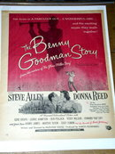 The Benny Goodman Story   Movie Advertisement