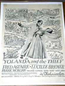 Yolanda and the Thief   Movie Advertisement
