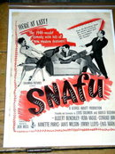 Snafu   Movie Advertisement - 1946