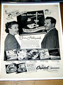 Capitol Records  Advertisement - Fibber McGee and Molly