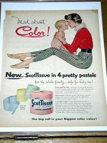 Scott Tissue  Advertisement