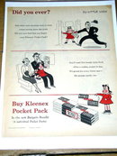 Kleenex Pocket Pack Tissues  Advertisement
