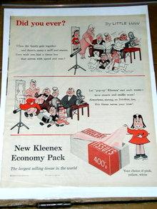 Kleenex Economy 400  Pack Tissues  Advertisement